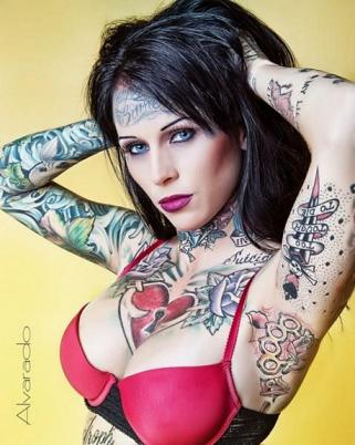 "Michelle ""Bombshell"" McGee: Jesse James Mistress, Tattoo Model, Stripper,"