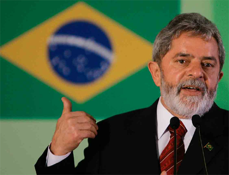 "a58a82651ceaking.jpg Brazils Lula Slams ""Gringo"" Protests of Amazon Dam"