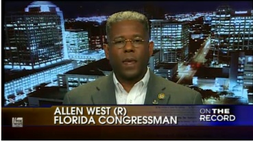 b58e0310a7coon.jpg Coon of the Day: GOP Rep. Allen West Calls Obama a 'Low Level Socialist' Who 'Never Even Ran a Lemonade Stand'