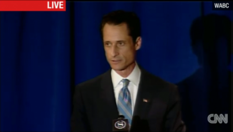 """8944db6b3226x299.png 480x272 Anthony Weiner Admits to Lewd Photos, Labels Actions a """"Personal Failing"""""""
