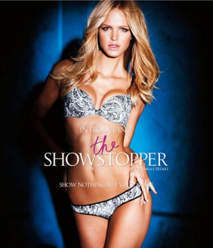 357ffbc4d9ecret1.jpg 309x360 Victoria's Secret Showstopper of the Day