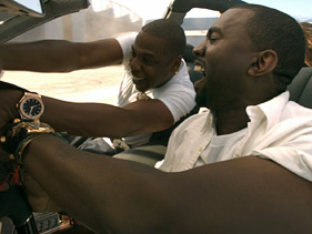 857528a7bd81x211.jpg Jay Z And Kanyes Otis Video: Maybach Massacre
