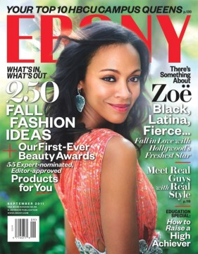 87c583907cny zoe.jpg 281x360 Zoe Saldana Talks Hollyweird And Black Presidents With EBONY, Plus JET Beauty Of The Week Chris Tucker Is Making A Comeback